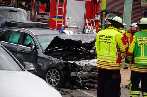 Das Unfallrisiko fährt bei Einsätzen stets mit