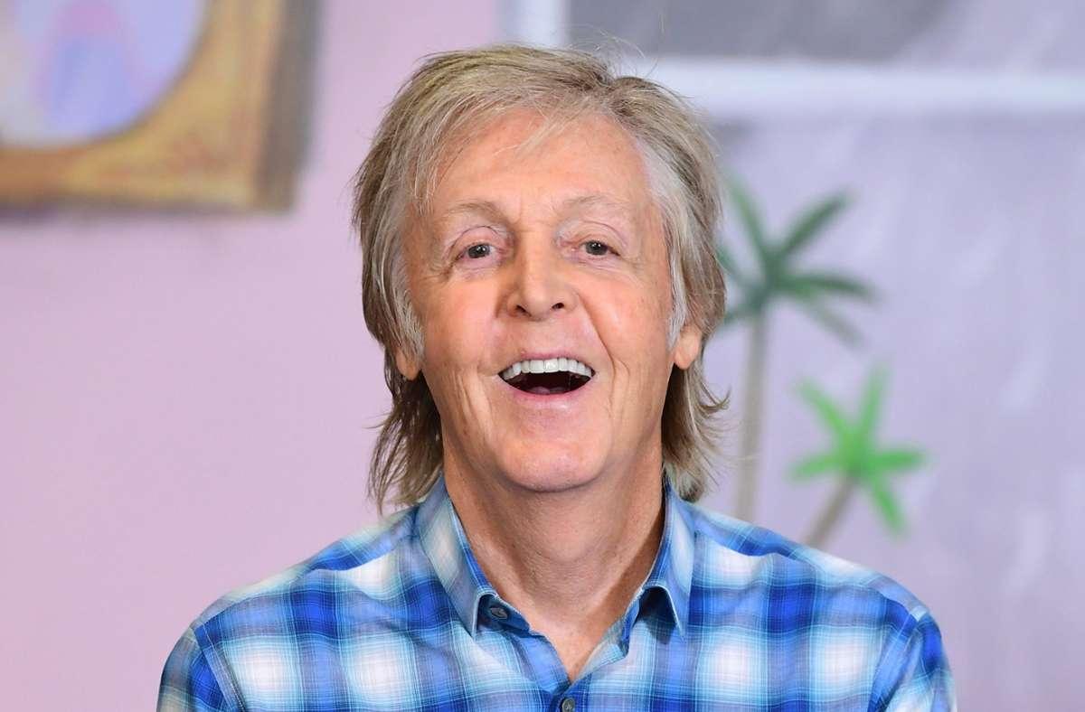 Paul McCartney hat ein neues Album eingespielt – im Alleingang. Foto: dpa/Ian West