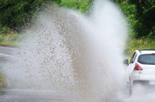Gewitter können für Überflutungen sorgen