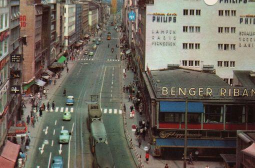Erinnerungen an große Zeiten der oberen Königstraße