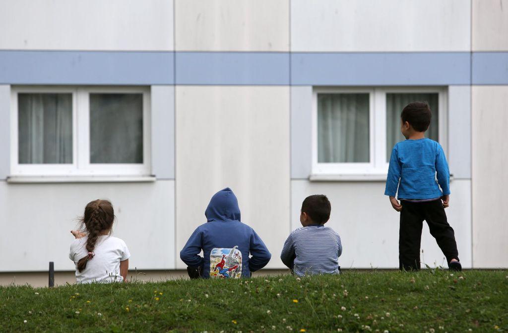 Die lange Unterbringung in Flüchtlingsunterkünften widerspricht der Kinderrechtskonvention. Foto: dpa