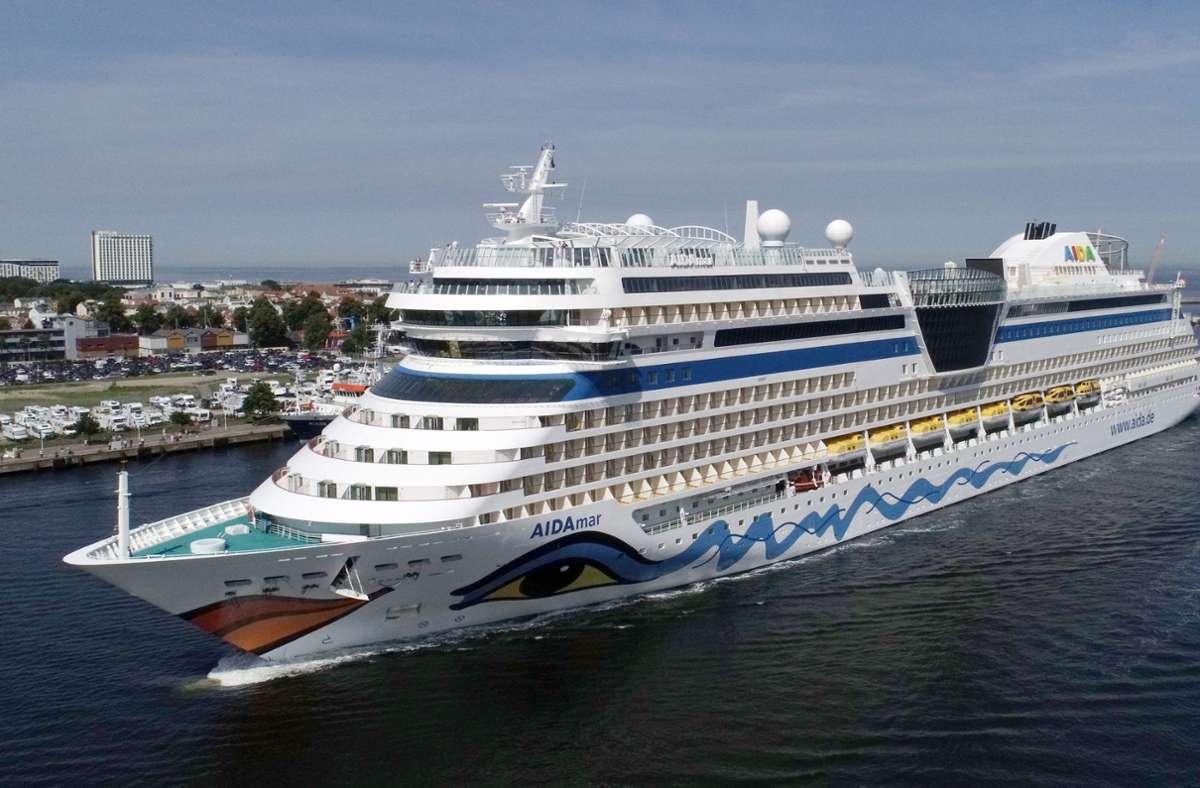 Die Rostocker Reederei Aida Cruises ist der größte Anbieter für Kreuzfahrten in ganz Deutschland. Foto: dpa/Bernd Wüstneck