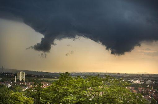 Erneut schwere Gewitter in Stuttgart möglich