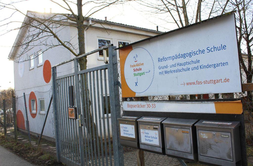 Die Freie Aktive Schule kann nicht an ihrem jetzigen Standort in Degerloch bleiben. Foto: Tilman Baur