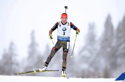 Laura Dahlmeier ist Weltmeisterin in der Verfolgung