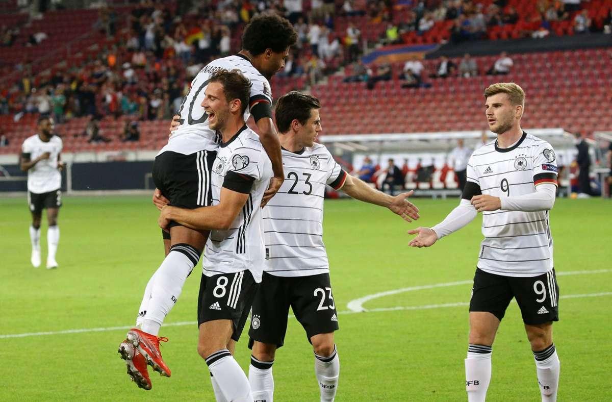 Deutschland gewinnt gegen Armenien. Foto: Pressefoto Baumann/HansjŸrgen Britsch