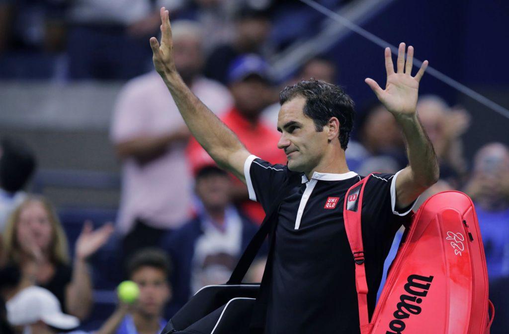 Roger Federer ist bei den US Open ausgeschieden. Foto: dpa