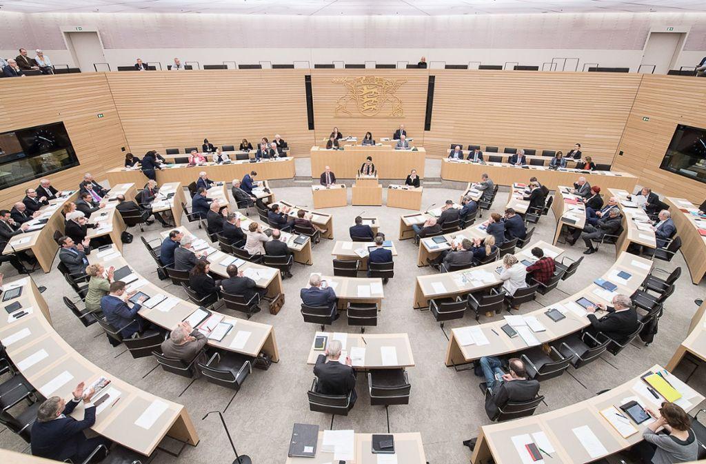 Am Dienstag soll nochmal über die Wahlrechtsreform beraten werden. Foto: dpa
