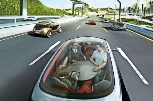 Zukunftsmodell: Das  Leonberger Robotaxi