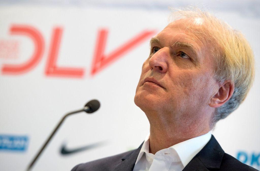 Clemens Prokop fungiert seit 2001 als Präsident des Deutschen Leichtathletik-Verbandes (DLV). Foto: dpa