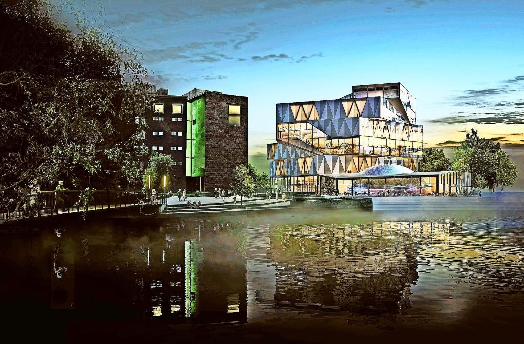 Der Neubau der Experimenta in Heilbronn (hier ein Fotomodell) soll mit der Planungs- und Baumethode BIM erstellt werden, die derzeit die Baubranche revolutioniert. Foto: Sauerbruch Hutton Berlin