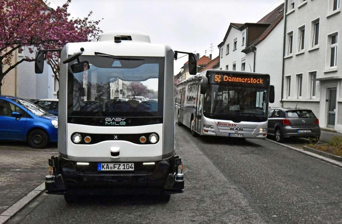 Die Elektrobusse heißen Ella, Vera und Anna. Foto: Stefan Jehle