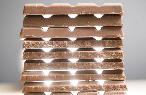 Diebe stehlen mehr als 13.000 Schokoladentafeln