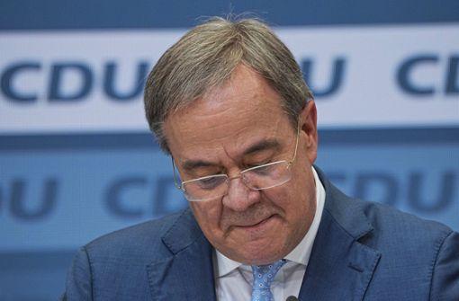 Knappe Mehrheit der Unionsanhänger für Laschet-Rücktritt