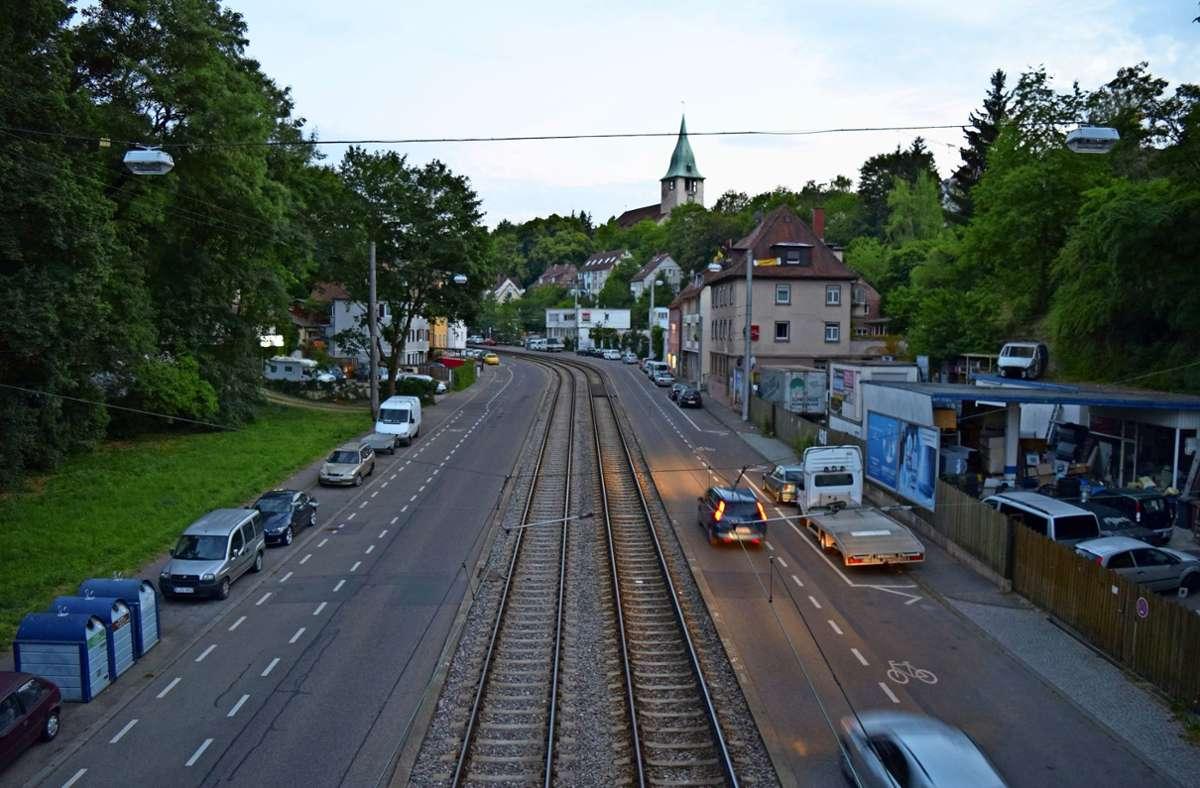Die Böblinger Straße zerschneidet Kaltental in zwei Hälften. Foto: Archiv Alexandra Kratz