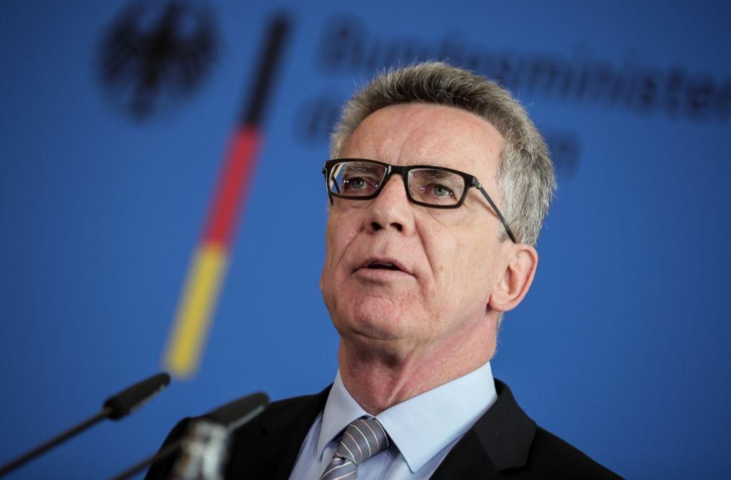Will das Sicherheitsgefühl der Bürger stärken: Bundesinnenminister Thomas de Maizière (CDU). Foto: dpa