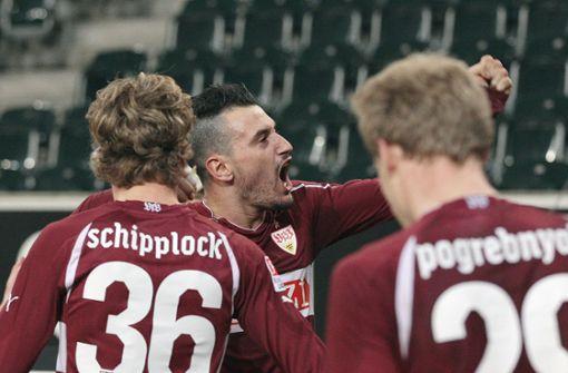 Als Timo Gebhart die VfB-Fans in Ekstase versetzte