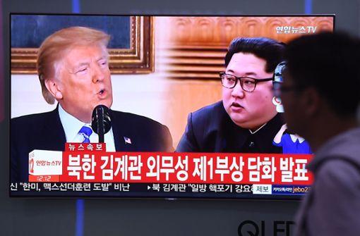Kim Jong Un überdenkt Treffen mit Donald Trump