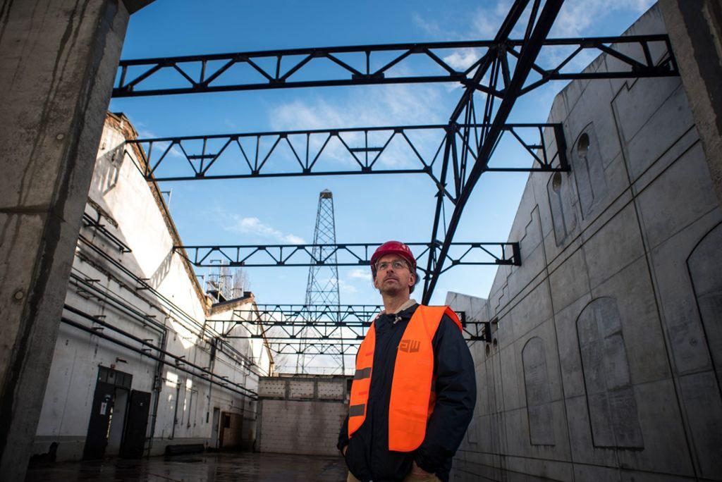 Zum Jahresende blickt Robin Bischoff, der Geschäftsführer des Kunstvereins Wagenhalle, auf ein rekordverdächtig anstrengendes Jahr zurück.  Foto: Lichtgut/Max Kovalenko