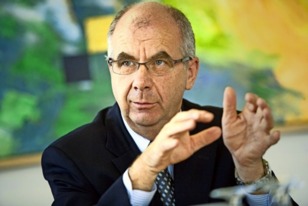 Siegfried Stumpf gilt mit dem Annehmen des Strafbefehls als vorbestraft. Foto: Steinert