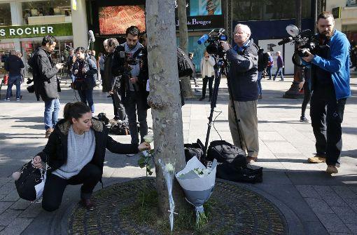 Deutsche bei Angriff auf Champs-Élysées verletzt