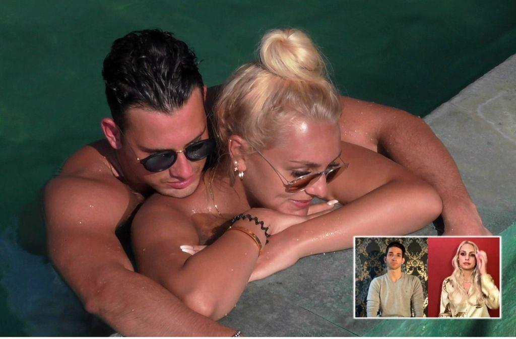 """In der Sendung """"Was danach geschah"""" trafen Max Schnabel, Michelle und Mateo zum ersten Mal nach den Dreharbeiten wieder aufeinander – zumindest virtuell.Foto:TVNOW Foto:"""