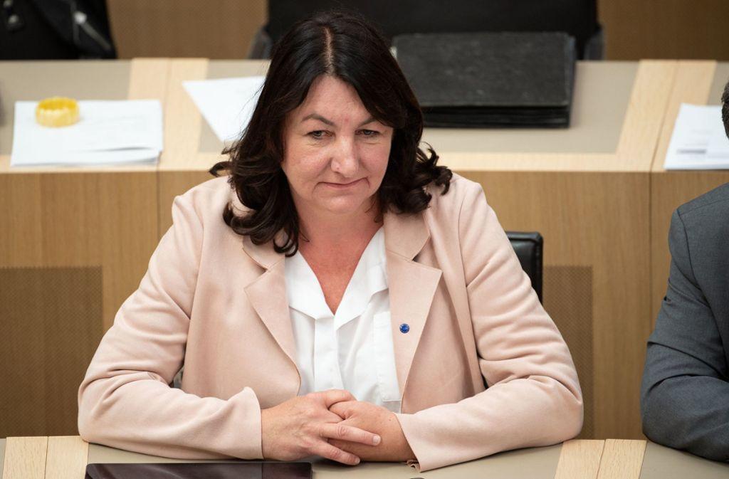 Beate Böhlen (Grüne) ist zur neuen Bürgerbeauftragten in Baden-Württemberg gewählt worden. Foto: dpa/Marijan Murat