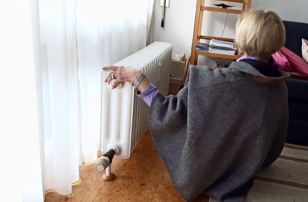 Die Heizung ist immer noch kalt Foto: Eva Funke