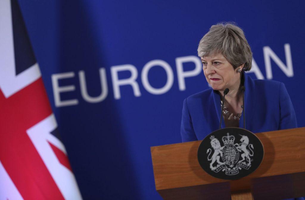 Großbritannien um Premierministerin Theresa May nimmt an der Europawahl teil. Foto: dpa