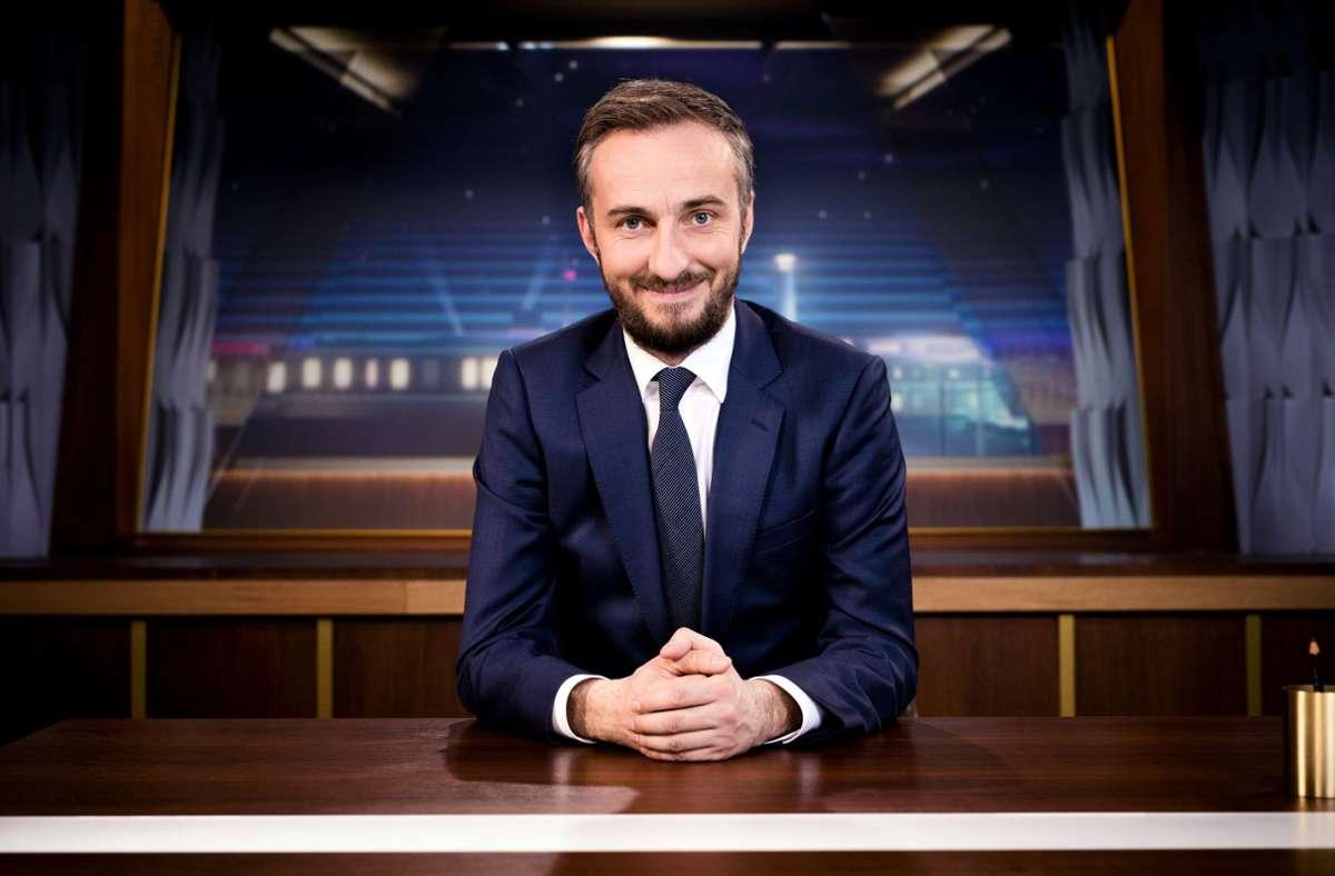 """Das """"ZDF Magazin Royale"""" ist ab dem 6. November freitags zu sehen und läuft nach der """"heute-show"""" (Archivbild). Foto: dpa/Ben Knabe"""