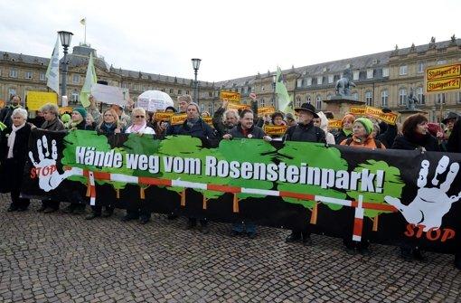 Der Gestattungsvertrag für den Rosensteinpark ist umstritten. Foto: :dpa