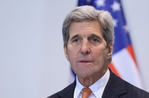 Kerry spricht von erster Einigung für Waffenstillstand
