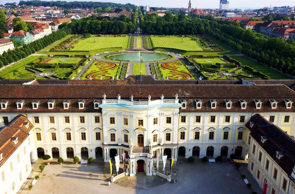 Das Ludwigsburger Residenzschloss will hoch hinaus. Bald soll es in einem Atemzug mit Schlössern wie Versailles oder dem Zarenpalast in St. Petersburg genannt werden. Foto: SSG