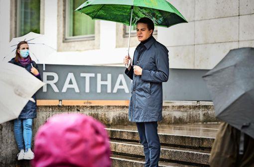 Marian Schreier will neuen Stil im Rathaus prägen