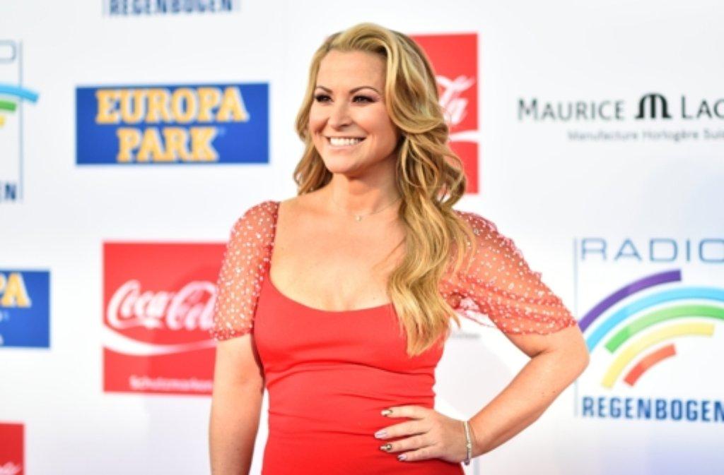 Die Sängerin Anastacia war der Star des Abends bei der Verleihung des Radio Regenbogen Awards im Europapark in Rust. Foto: dpa