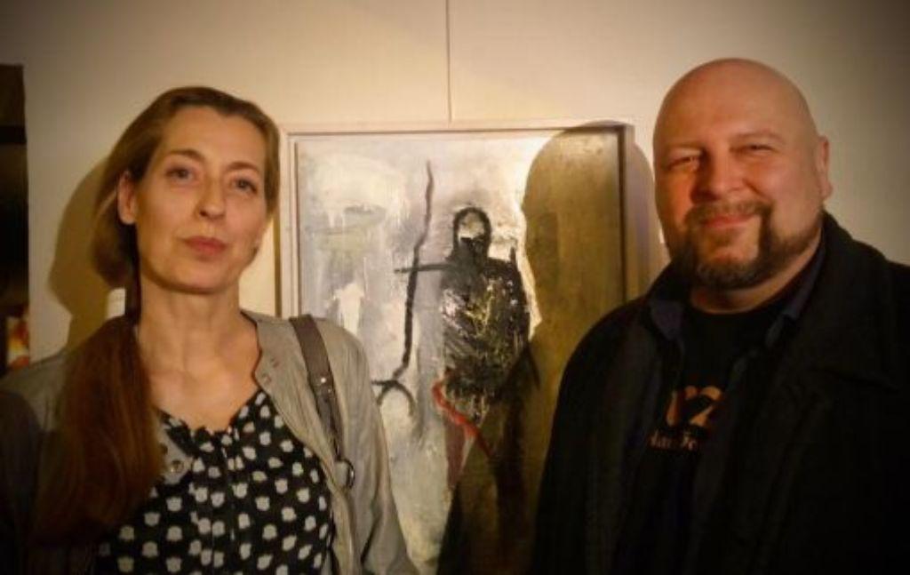 Künstler der Großen Freiheit: Oliver Sich und Katja Kohlhammer. Foto: Jane Wright
