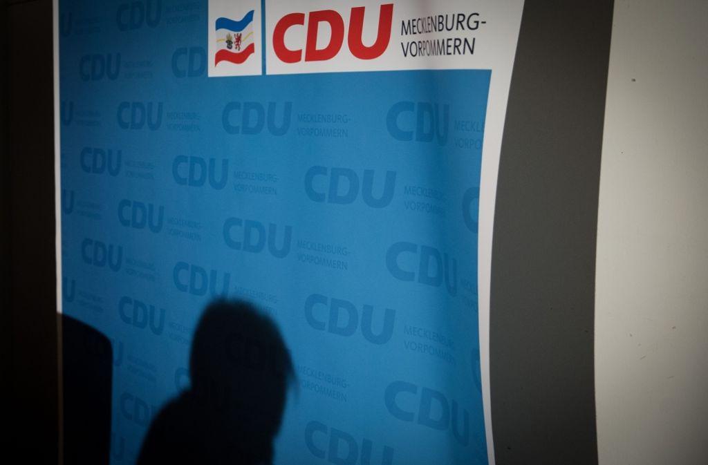 Für die CDU wurden die Landtagswahlen in Mecklenburg-Vorpommern zum Debakel. Foto: Getty Images Europe