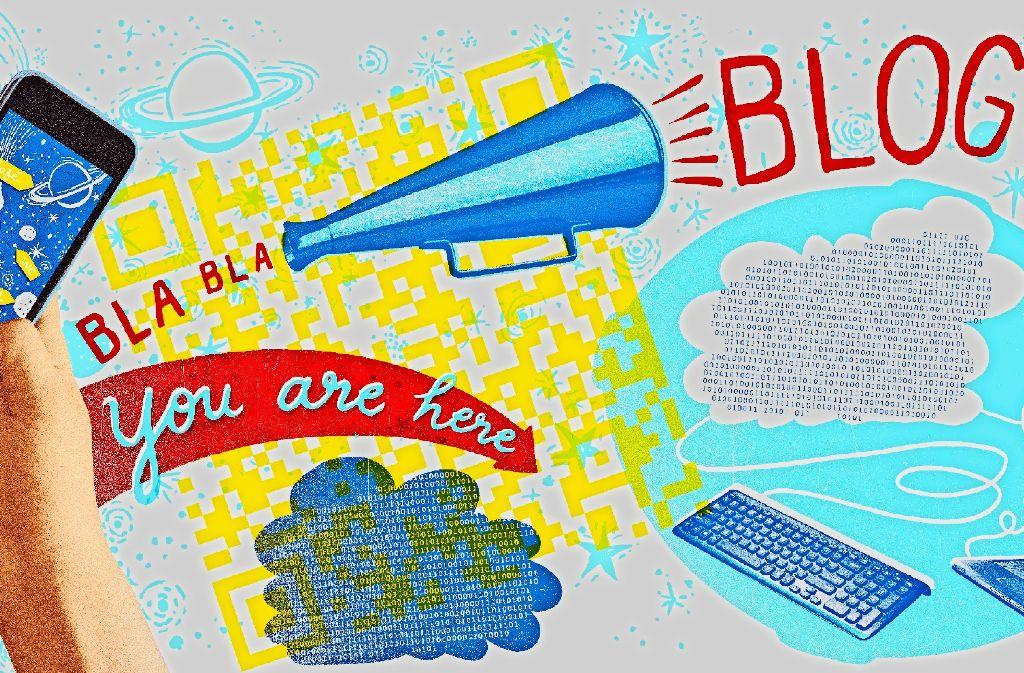 Wer es geschickt anstellt, kann mit seinem Blog viele Menschen erreichen. Foto: Mauritius