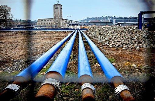 Die Bahn darf jetzt 6,8 Millionen Kubikmeter Wasser umwälzen. Allerdings wirkt die auflagenarme Genehmigung des Grundwassermanagements auch ein Stück weit befremdlich. Foto: Achim Zweygarth