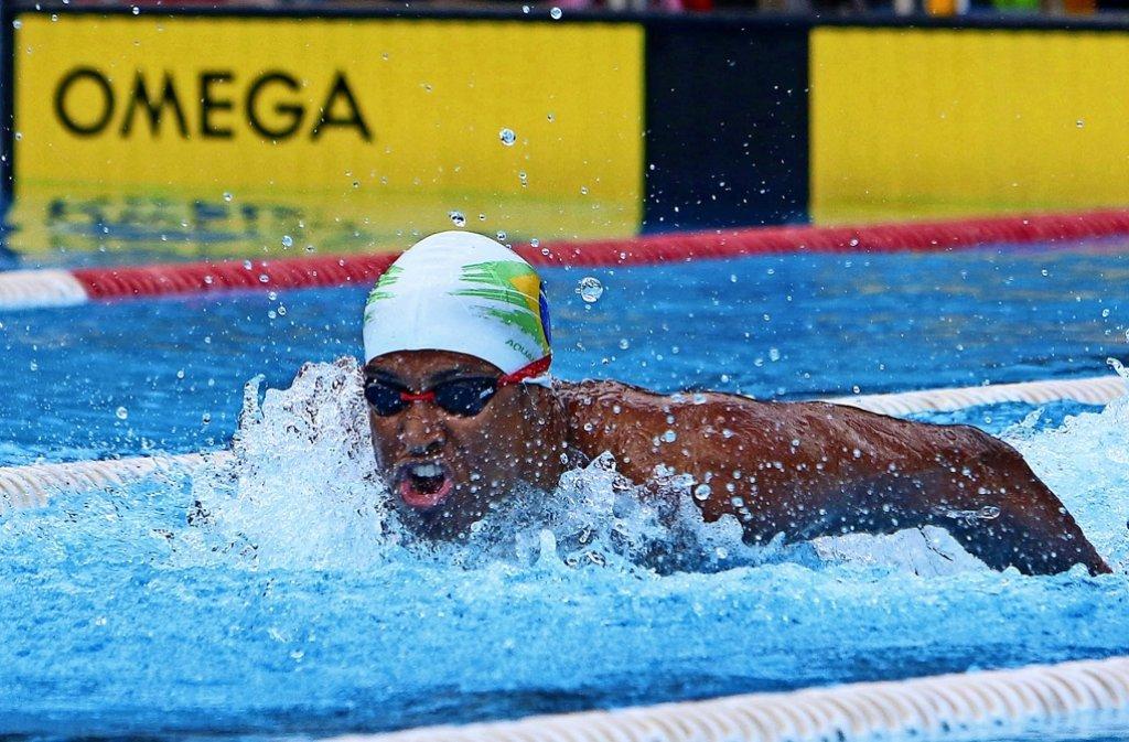 Ramon  Faria Haug    schwimmt  derzeit bei den Wasserfreunden   obenauf.    Beim Spintercup   bestätigt  er  seine  Form     und  startet jetzt  bei den  Württembergischen. Foto: Andreas Gorr