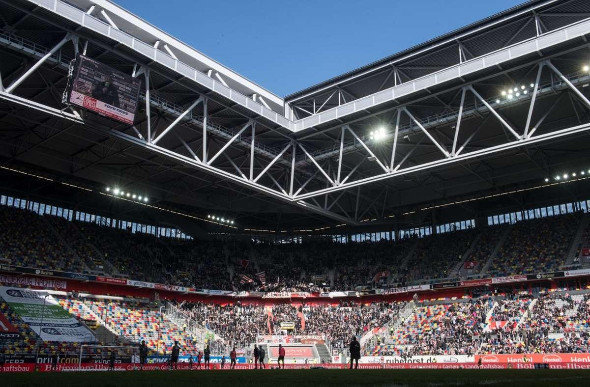 Das Konzert soll am 4. September im Düsseldorfer Fußballstadion stattfinden. Foto: dpa/Bernd Thissen