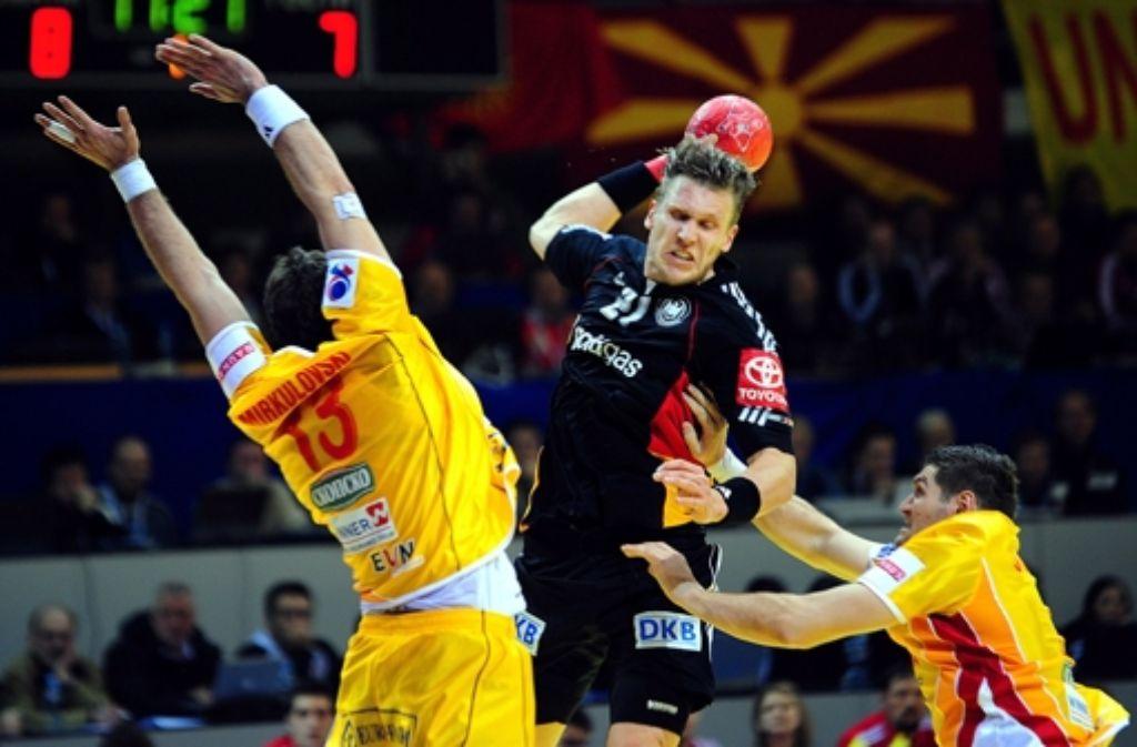 Handball-Nationalspieler Lars Kaufmann  verlässt den SG Flensburg und kehrt zurück zu Frisch Auf Göppingen. Foto: EPA