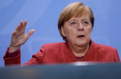 Angela Merkel  in Schuldebatte sehr verärgert über Länder