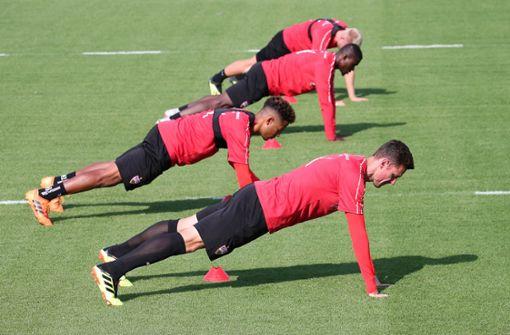 Getrübte Stimmung beim VfB-Training