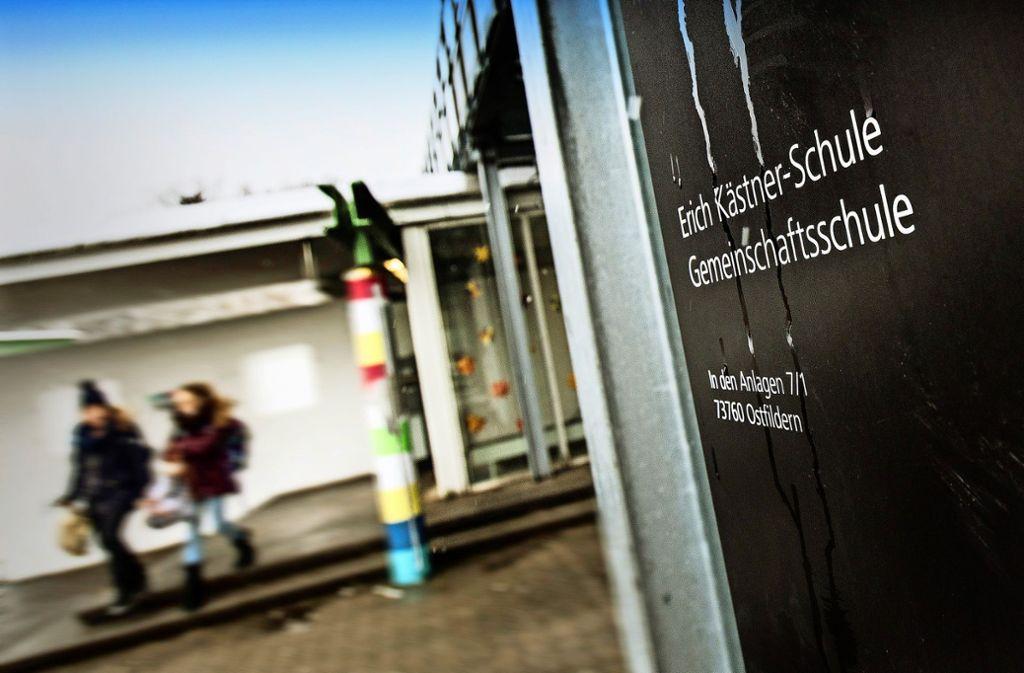 Die Verantwortlichen der  Erich-Kästner-Schule fühlen sich mit ihren Problemen von der Stadtverwaltung allein gelassen. Foto: Horst Rudel