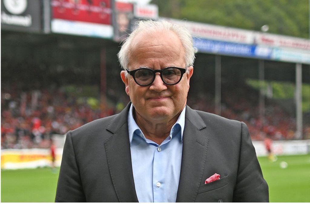 Der Wahl von Fritz Keller zum Präsidenten des Deutschen Fußball-Bundes steht nichts mehr imWege. Foto: dpa