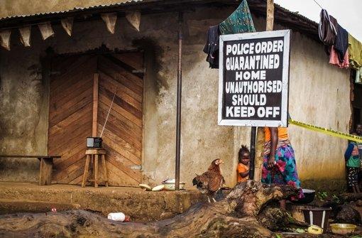 Voller Einsatz für Opfer der Ebola-Epidemie