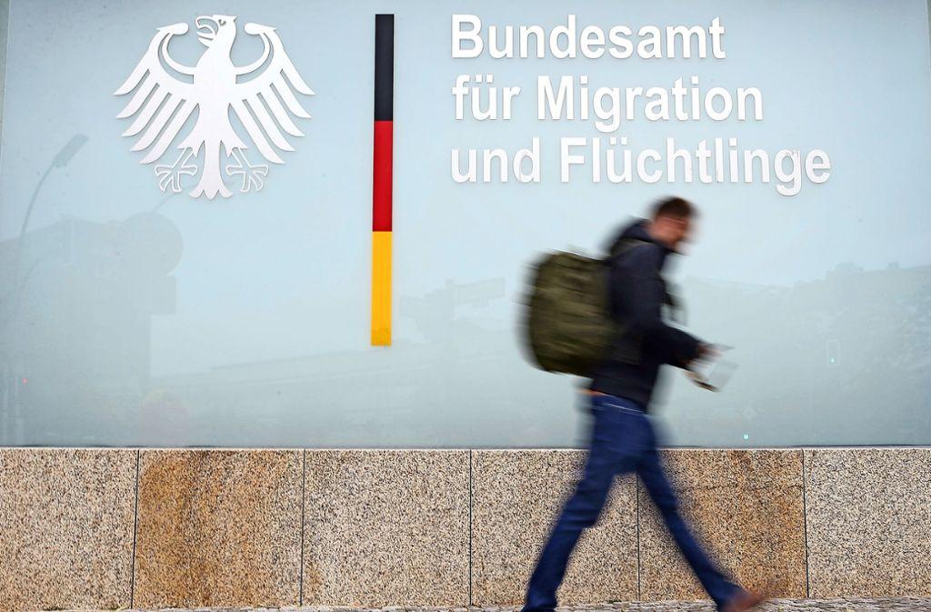 Im   Bundesamt für Migration und Flüchtlinge ist mancher Vorgang noch unklar. Foto: Getty Images Europe