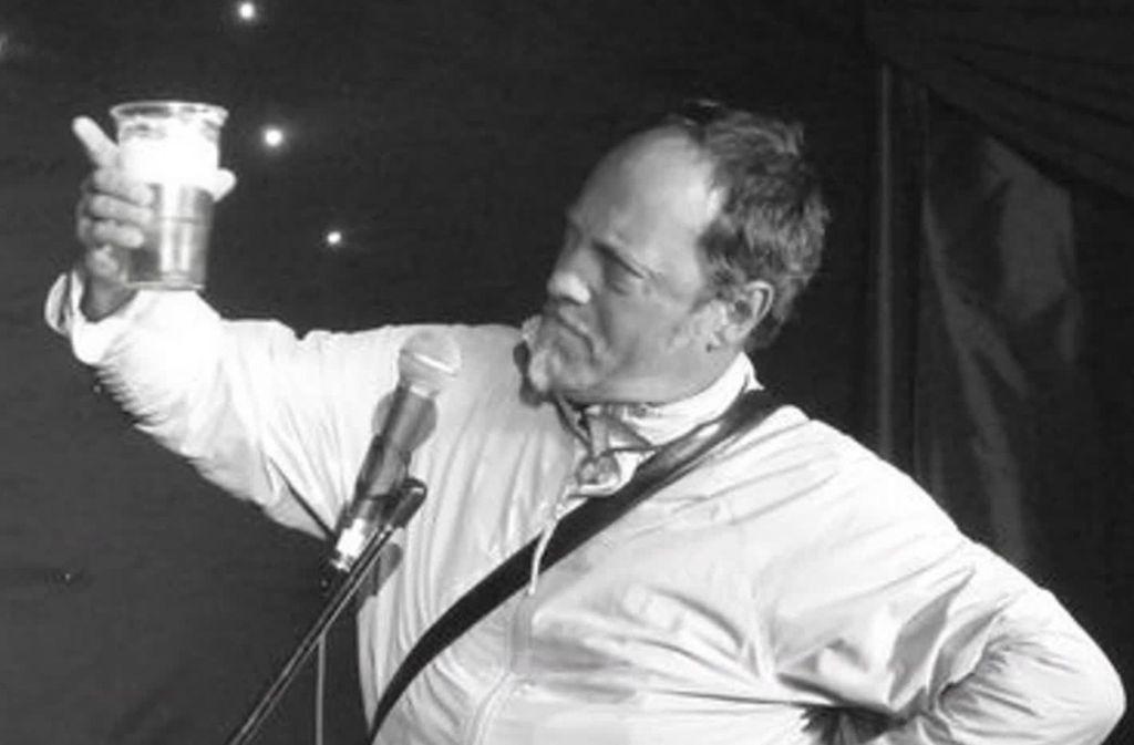 Ian Cognito starb während eines Auftritts auf der Bühne. Foto: Glomex