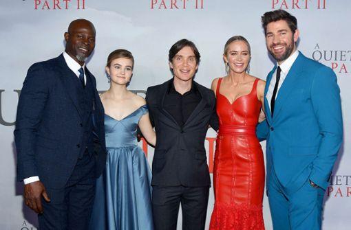 """A Quiet Place 2"" feiert in New York Premiere"